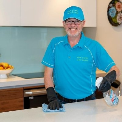 kitchen and oven house cleaning with Hobart Cleaners and House Cleaning